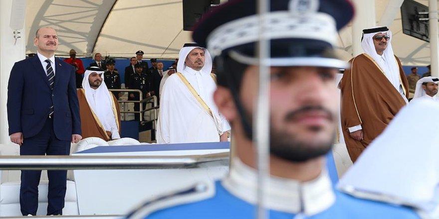 Soylu, Katar'da polis mezuniyet törenine katıldı