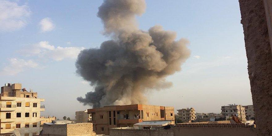 ABD öncülüğündeki koalisyon Deyrizor'da cami vurdu