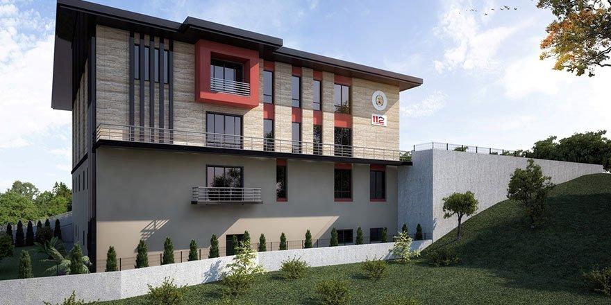 Gebze'ye yeni itfaiye binası