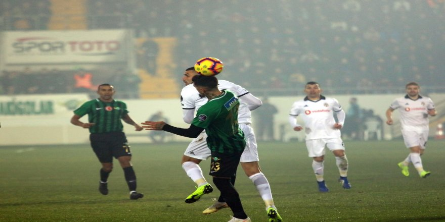 Spor Toto Süper Lig: Akhisarspor: 1 - Beşiktaş: 3 (Maç sonucu)