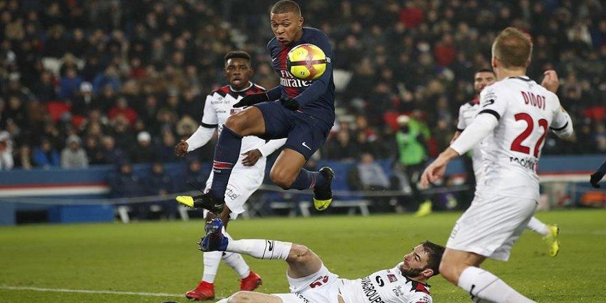 PSG'den Guingamp'a gol yağmuru