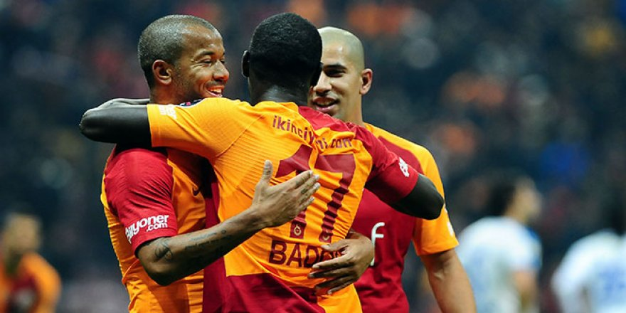 Galatasaray'ın evindeki seriyi 29 maça çıkardı