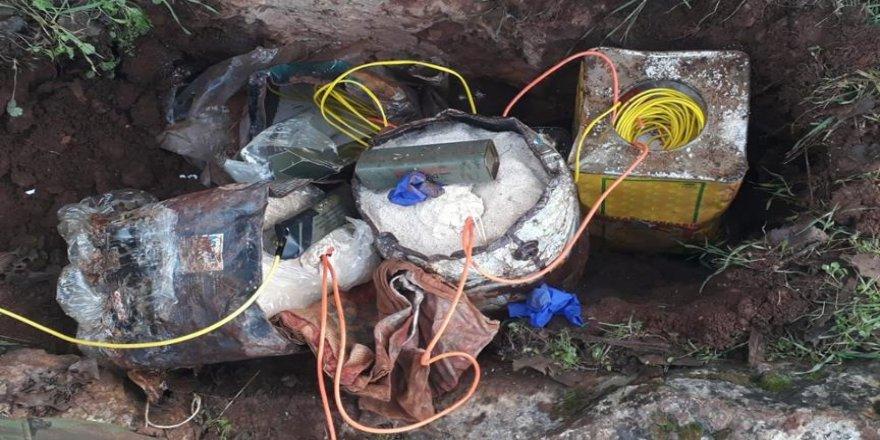 150 kilogram patlayıcı ele geçirildi