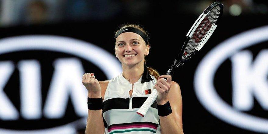 Kvitova, Avustralya Açık'ta yarı finalde