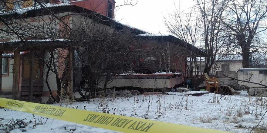 Halk kütüphanesinin kazan dairesinde patlama