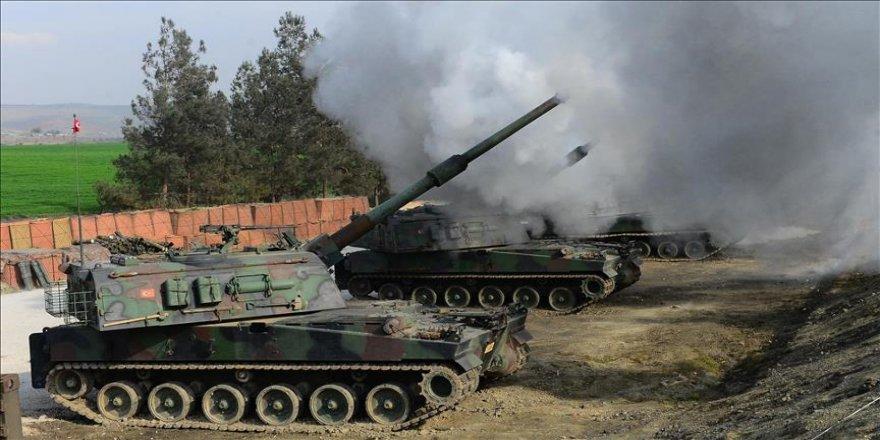 TSK, YPG/PKK'lı teröristleri vurdu