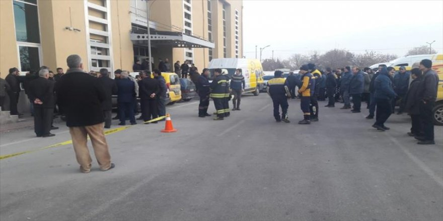 PTT binasında patlama