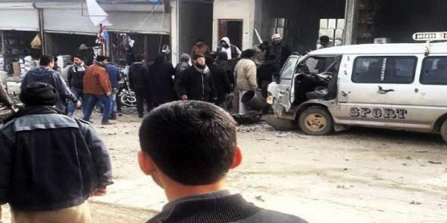 Cerablus'ta patlama: 2 yaralı