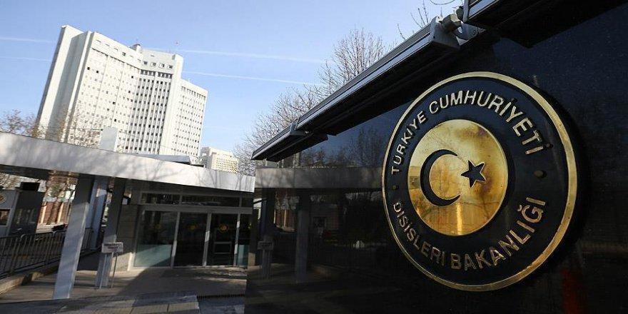 Dışişleri Bakanlığı kilise saldırısını kınadı