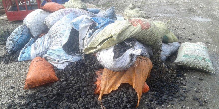 Depodan 40 ton kömür çalındı