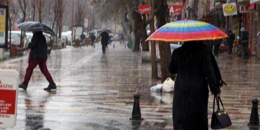 Yarın yağışlı hava bekleniyor