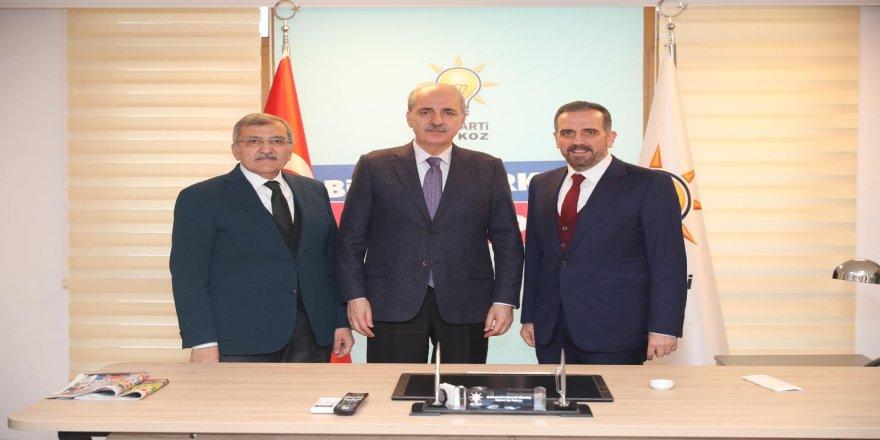 """AK Parti Genel Başkanvekili Kurtulmuş: """"Seçim masa başında değil sahada kazanılır"""""""