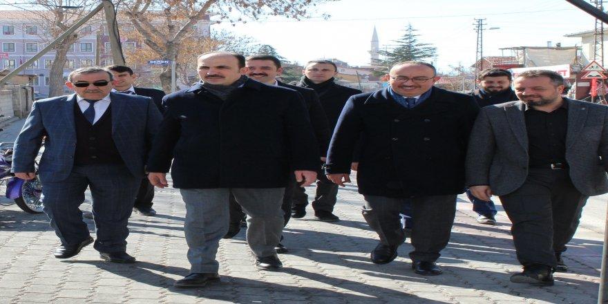 Altay ve Kavuş, vatandaşlarla buluştu