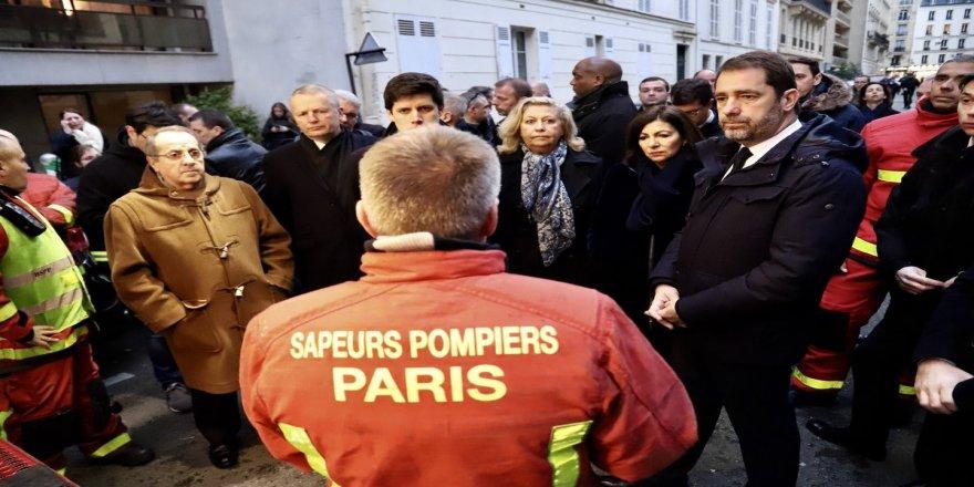 Fransa İçişleri Bakanı 8 kişinin öldüğü facia bölgesinde
