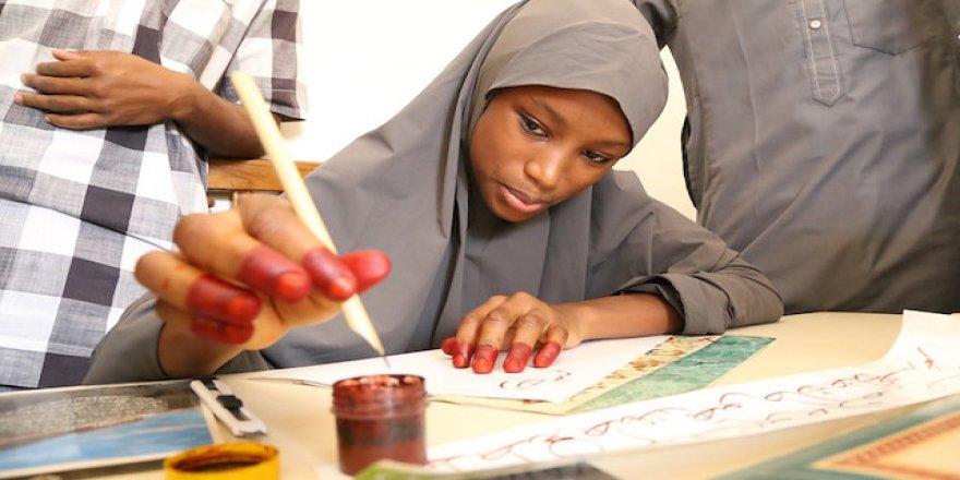 Nijerya'nın ilk hattatları Türkiye'den destek alıyor