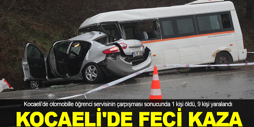 Kocaeli'de feci kaza: 1 ölü