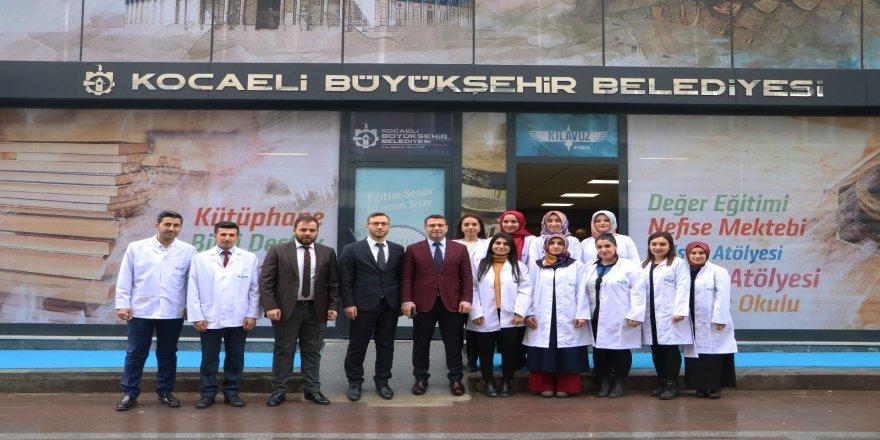 Dilovası Selahaddin Eyyubi Akademi Lisesi hizmete açıldı