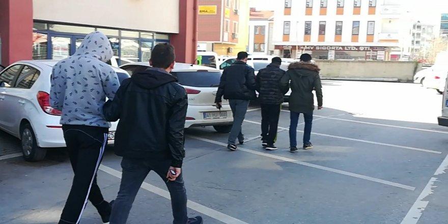 Gebze'de hırsızlar yakalandı