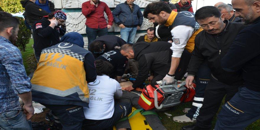 Ordu'da yamaç paraşütü teleferik tellerine takılıp yere çakıldı: 2 ağır yaralı