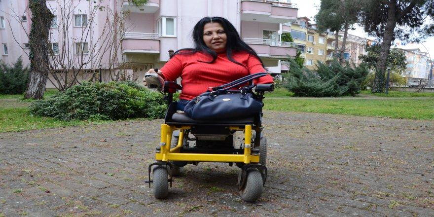 Bir engellinin acı hayat hikayesi