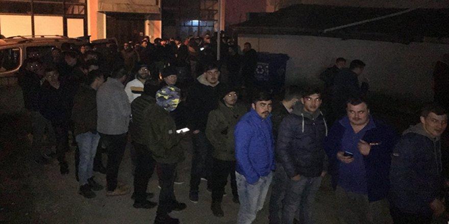 TTK'da işçi alımı kuyruğu geceden başladı