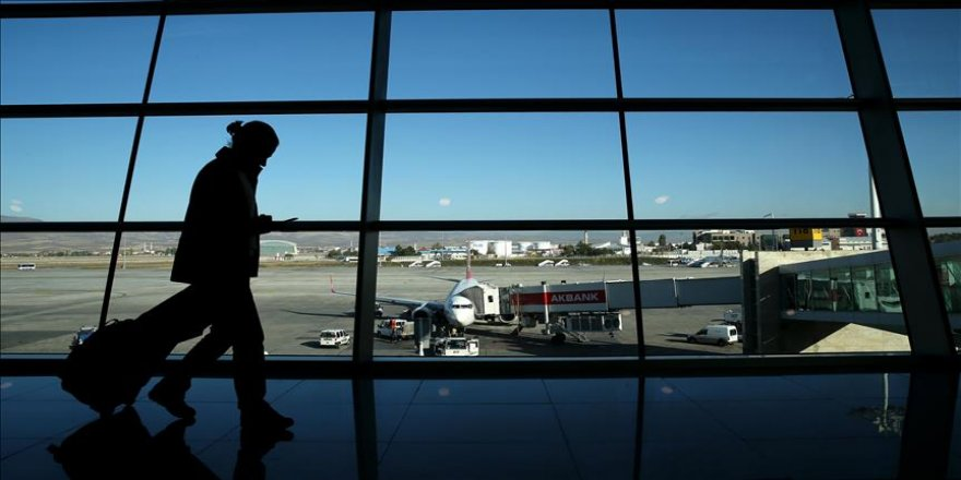 Ankara'da ocakta 1,2 milyon kişi hava yolunu kullandı