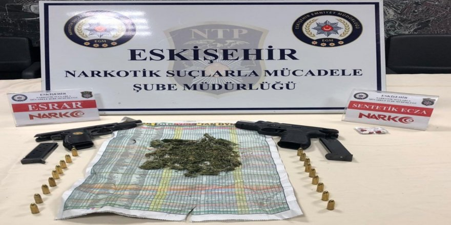 Son bir haftada uyuşturucudan 24 gözaltı