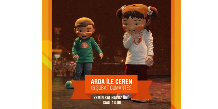 Arda ile Ceren İstanbul'da çocuklar ile buluşuyor