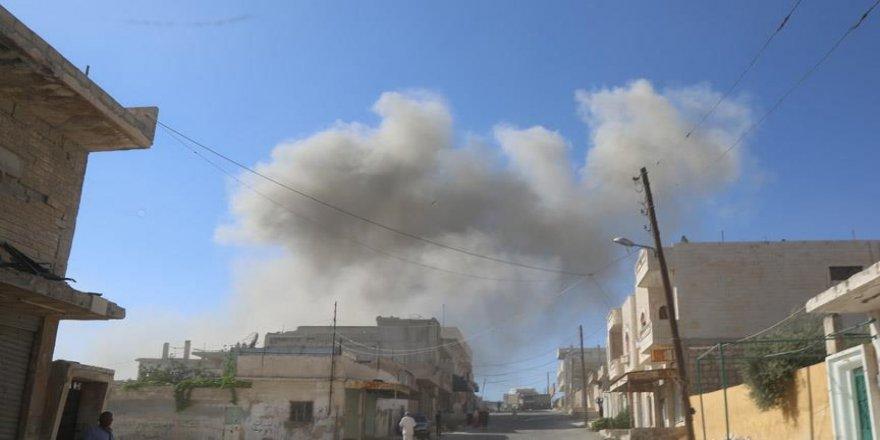 Esed rejiminden İdlib'e yoğun saldırılar