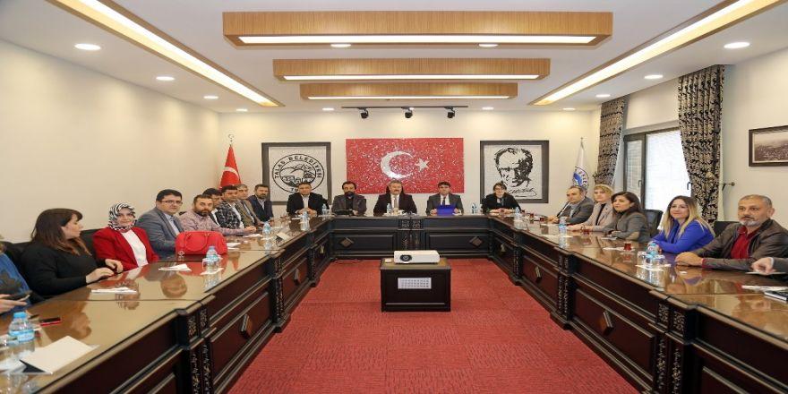 Başkan Palancıoğlu Mimar Ve Mühendislerle