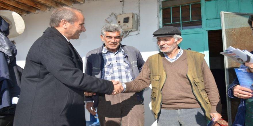 Arguvan'da CHP'li adaya yoğun ilgi