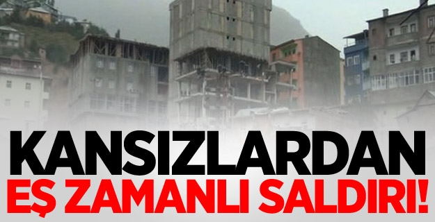 PKK'dan eş zamanlı hain saldırı!