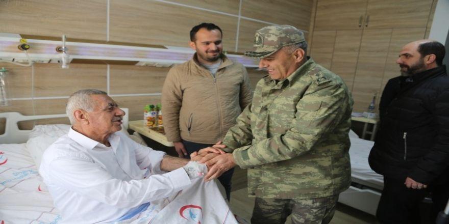 Şırnak Tümen Komutanından Başkan Eren'e ziyaret