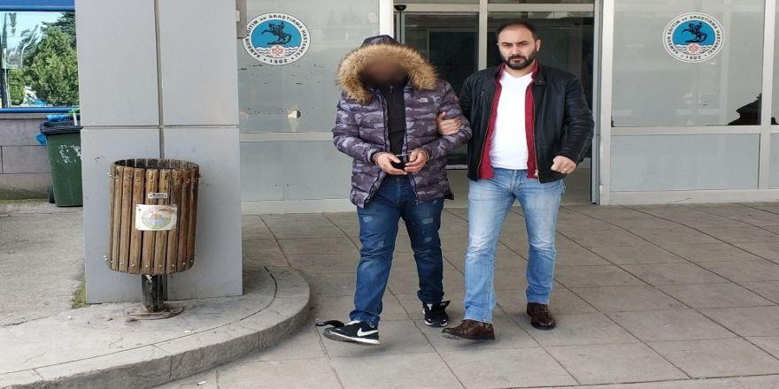 Samsun'da uyuşturucudan bir kişi tutuklandı