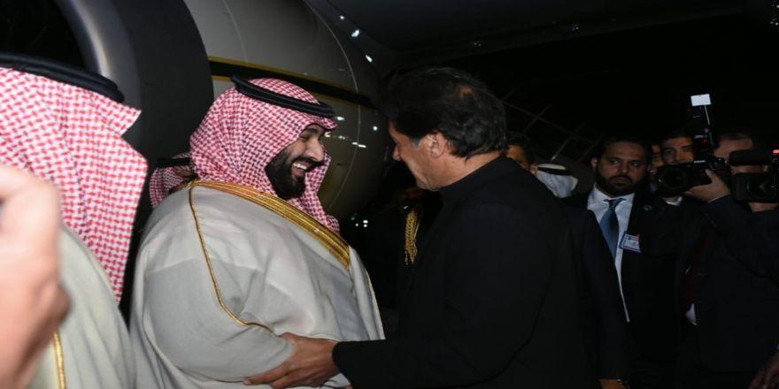 Suudi Veliaht Prens Bin Selman Pakistan'da