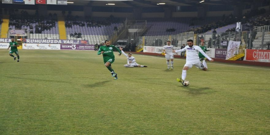 Spor Toto 1. Lig: Afjet Afyonspor: 3 - Giresunspor: 2