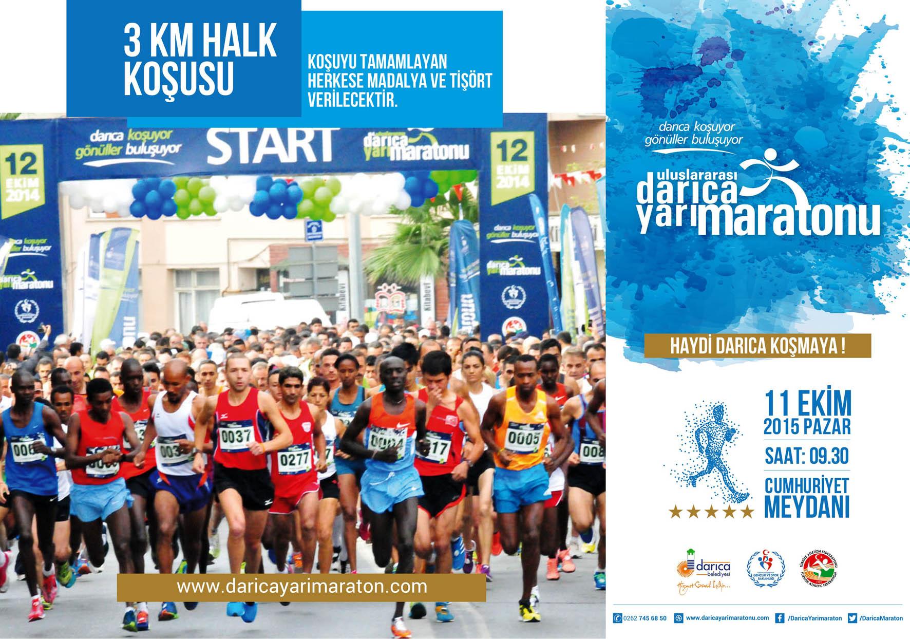 Darıca Yarı Maraton İlanı