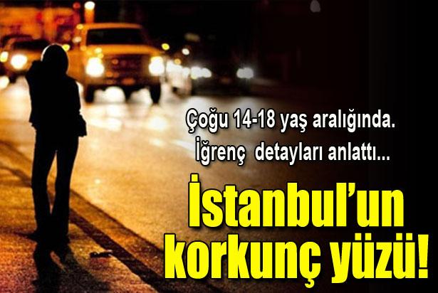 İstanbul'un korkunç yüzü: Çocuk seks işçileri