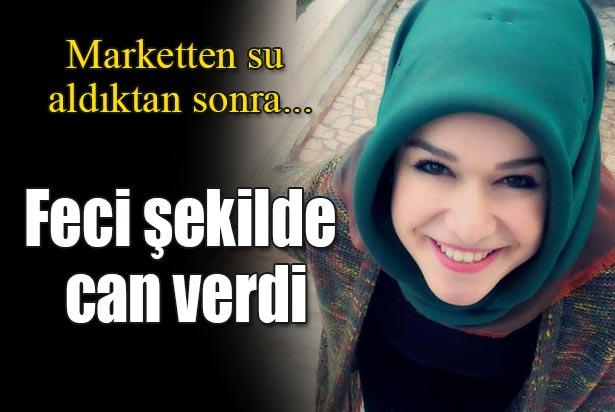 MARKETTEN SU ALDI...FECİ ŞEKİLDE CAN VERDİ !