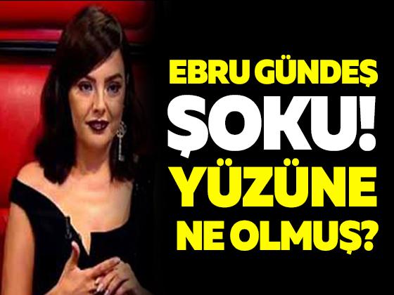 O Ses Türkiye'de Ebru Gündeş şoku! Yüzüne ne oldu