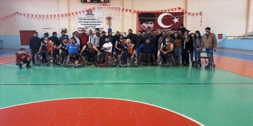 Kızıltepe Engelliler Gücü Spor Kulübü engel tanımıyor