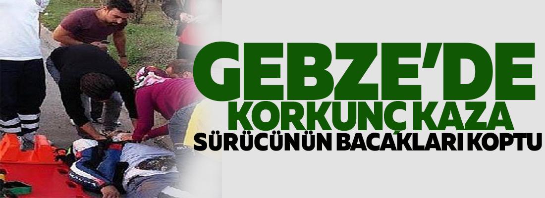 GEBZE'DE FECİ KAZA