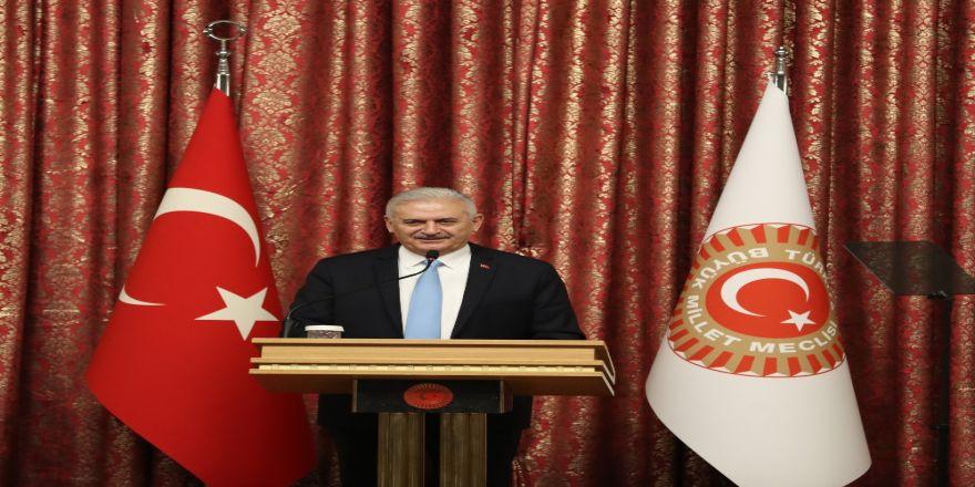 TBMM Başkanı Yıldırım istifa dilekçesini sundu