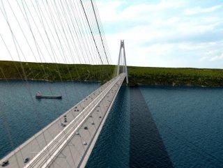 Üçüncü köprü ulaşım yolu trafiğe açıldı