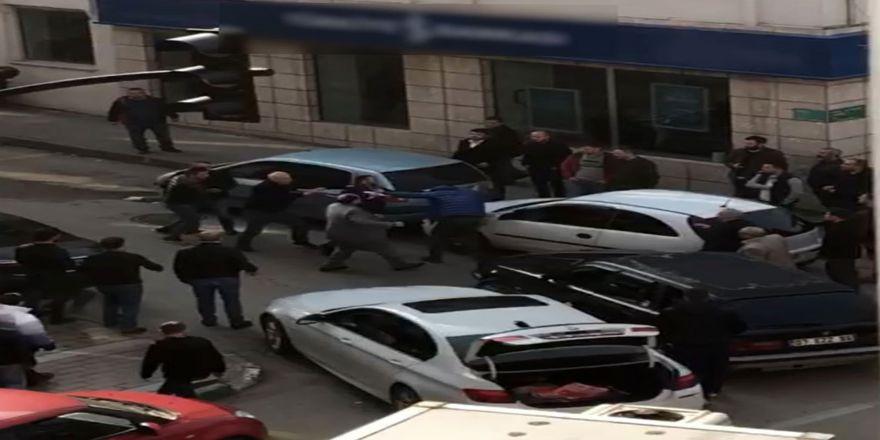 yol verme kavgasında çok sayıda kişi gözaltına alındı