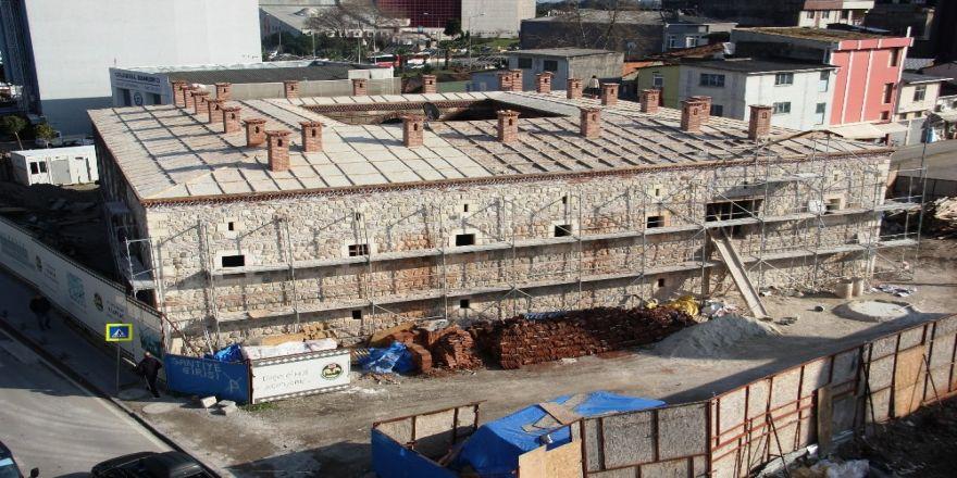 511 yıllık tarihi Taşhan'ın restorasyonu Nisan ayında tamamlanacak