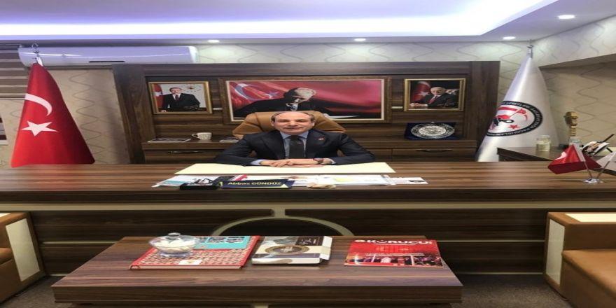 15 Temmuz Demokrasi Şehitleri Gazileri ve Terör Mağdurları Derneği Genel Başkanı Abbas Gündüz: