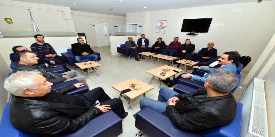 """Belediye Başkanı Yaşar Bahçeci: """"Ziyaretlerimiz Kırşehir istişaresi için"""""""