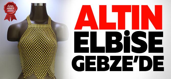 Altın elbise Gebze'de