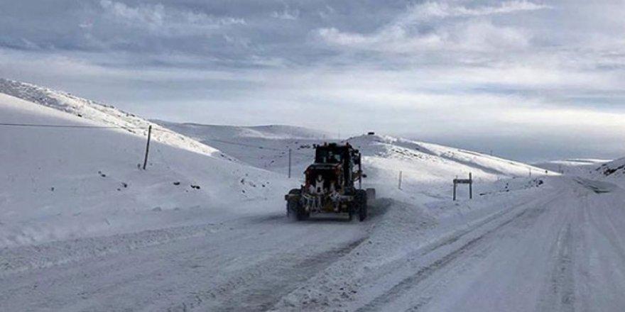 Doğu illeri için buzlanma ve çığ uyarısı